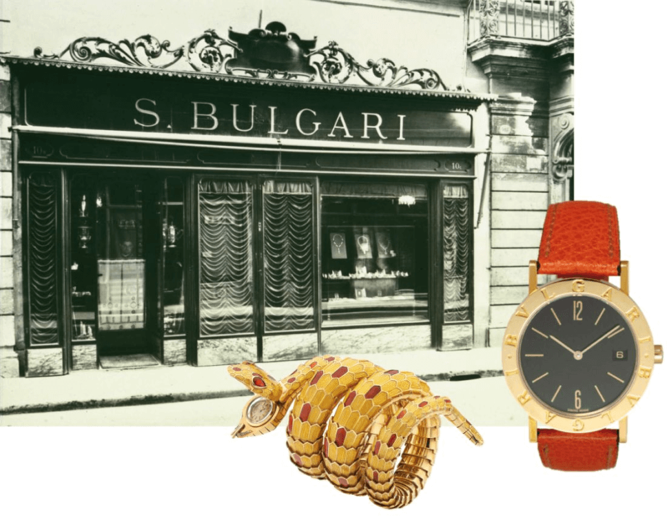 Bvlgari tienda antigua