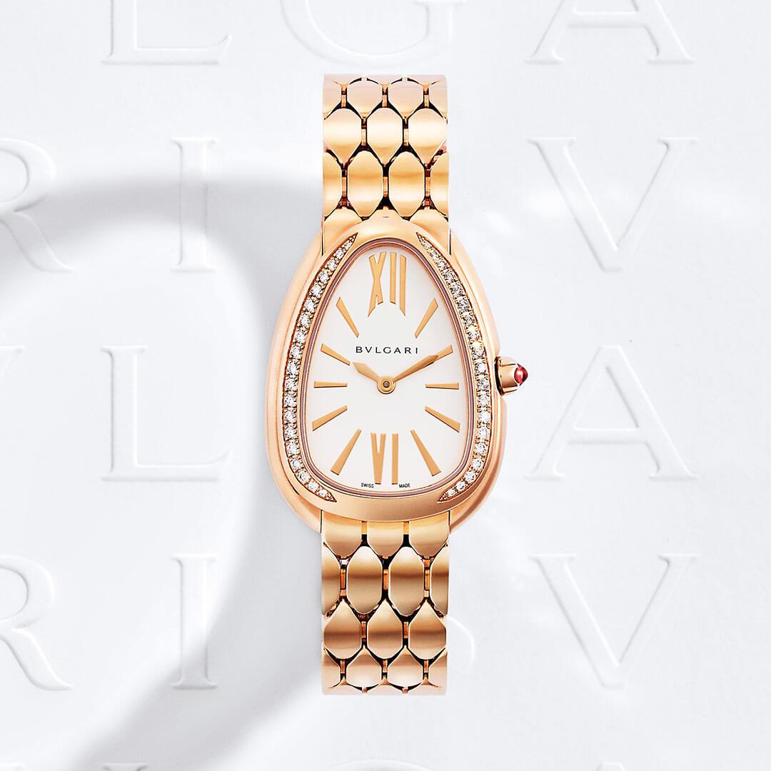 Reloj de lujo Bvlgari